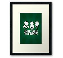Doctor Watson Poster Framed Print
