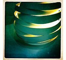 Hand Thrown Lamp Part 3 Photographic Print