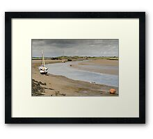The aproaching storm Framed Print
