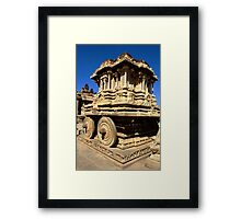Stone Chariot Framed Print