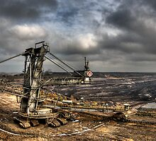 Opencast Mine by MarkusWill