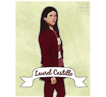 Laurel Castillo How to Get Away With Murder Photographic Print