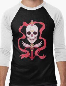 Moon Skull Men's Baseball ¾ T-Shirt