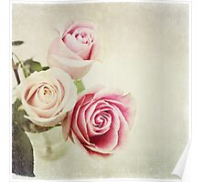 Happy Girls~ spring roses Poster