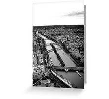 The Seine #2 Greeting Card