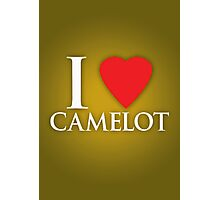 I Heart Camelot Photographic Print