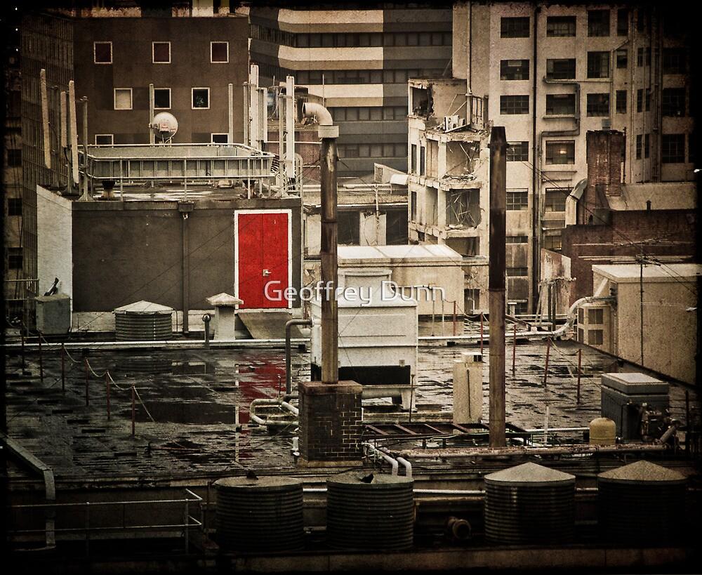 ...the red door... by Geoffrey Dunn
