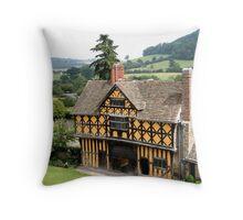 17th Century Gatehouse Throw Pillow