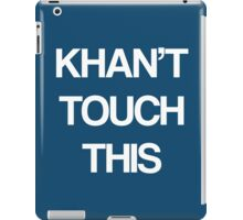 Khan Touch This (white) iPad Case/Skin