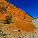 Coloured Sands. Rainbow Beach, Queensland, Australia. (2) by Ralph de Zilva