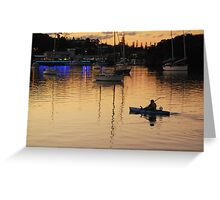 The Golden Harbour Greeting Card