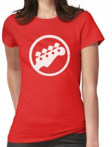 Scott Pilgrim Bass  Womens Fitted T-Shirt