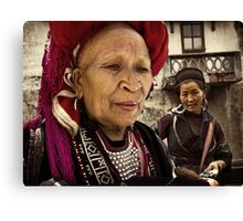 Red Dao Lady #0101 Canvas Print
