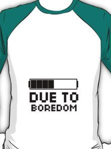 Scott Pilgrim | Pee Due To Boredom T-Shirt