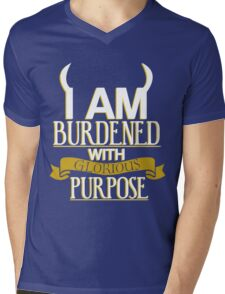 Glorious Purpose Mens V-Neck T-Shirt