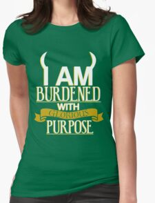 Glorious Purpose Womens Fitted T-Shirt