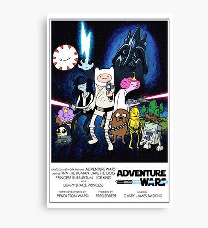 Adventure Wars - V2 Canvas Print