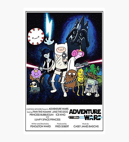 Adventure Wars - V2 Photographic Print