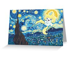 Starry Jirachi Greeting Card