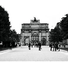Arc de Triomphe du Carrousel by Ruth Smith