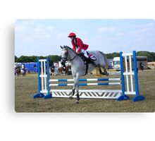 Jump to Win Canvas Print