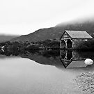 Dove Lake Boat House (Redux) by Mark Goodwin