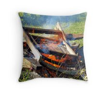 Last Resting Place Throw Pillow
