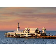 Cunningham Pier at Geelong Photographic Print