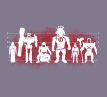 Plastic Villains (Red) Kids Clothes