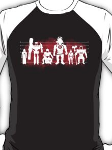 Plastic Villains (Red) T-Shirt