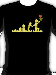 EVOLUTION LEGO BASKETBALL SPORTS funny T-Shirt