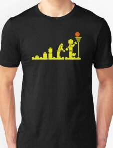 EVOLUTION LEGO BASKETBALL SPORTS funny T-Shirt