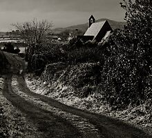 Wesk Cork Church on a Winter's Evening, County Cork, Ireland by Andrew Jones