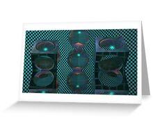 Flashbang Cutout2 Greeting Card