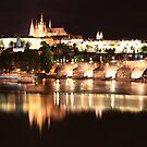 The Reflective Lights of Prague by stjc