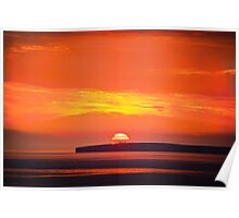 Loop Head Sunset Poster