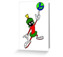 Marvin The Martian Greeting Card