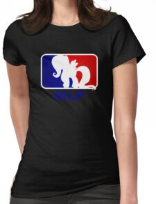 Major League Pony (MLP) - Fluttershy Womens Fitted T-Shirt