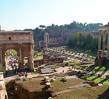 Forum, Rome by Digimo