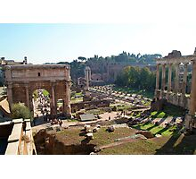 Forum, Rome Photographic Print