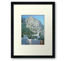Up to Anacapri II Framed Print