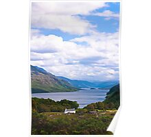 Landscape Scotland Loch Maree Wester Ross Poster