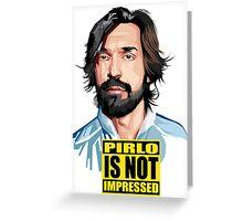 Andrea Pirlo Greeting Card