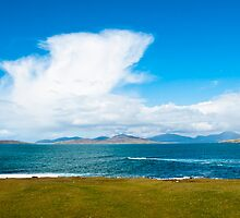 Landscape, Mountains of North Harris, Sound of Taransay, Western Isles, Scotland, by Hugh McKean