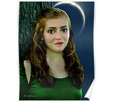 Mina by Moonlight Poster
