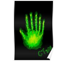 Ghostly Hand Poster