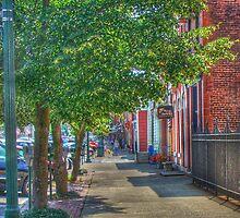 Sidewalk Scene by vigor