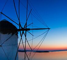 Mills on Mykonos,  Greece by jasonksleung