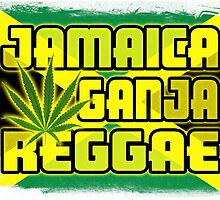Jamaica Ganja Reggae by extracom