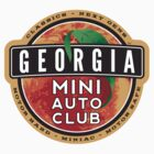 Georgia Mini Auto Club Sticker by JohnGo